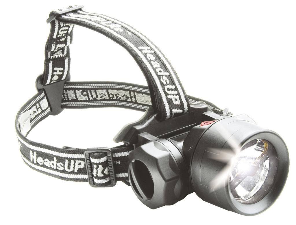 LED Stirnlampe HeadsUp Recoil Mod. 2680C, schwarz