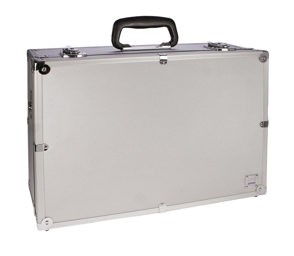 Aluminum Photo Case  EA large silver