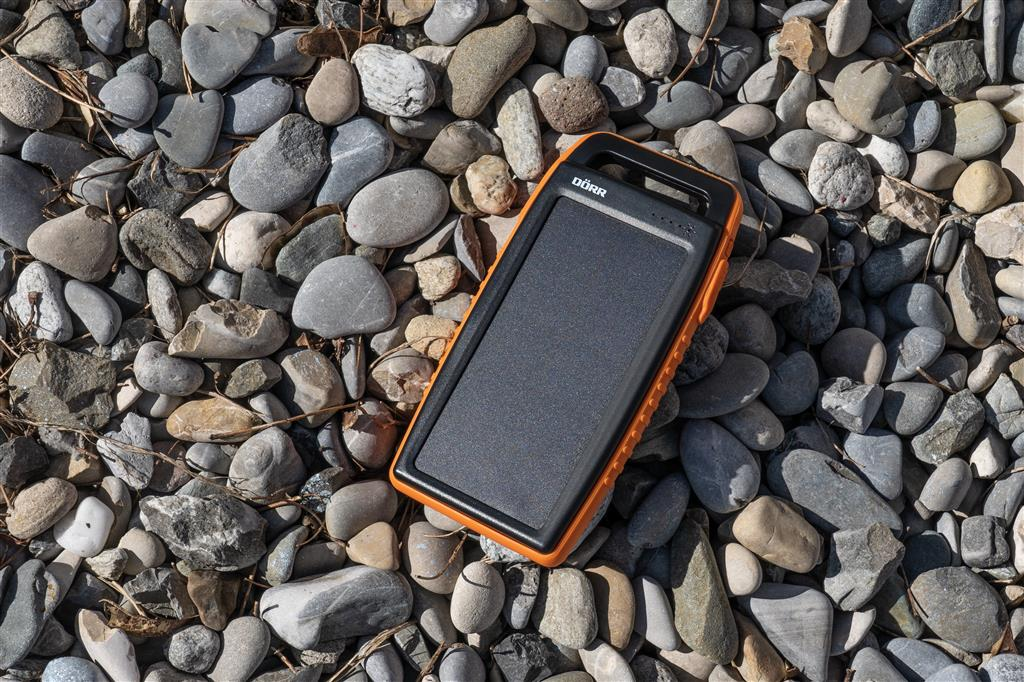 Solar Powerbank SC-15000 orange