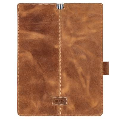 Kapstadt Leather Tablet Sleeve large cognac