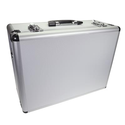 305 V1 - Silver Video Case with Foam & Divider