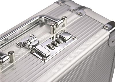 Aluminum Photo Case Silver 10