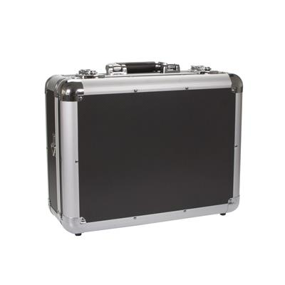 Aluminum Case Black 38 with Foam + Dividers