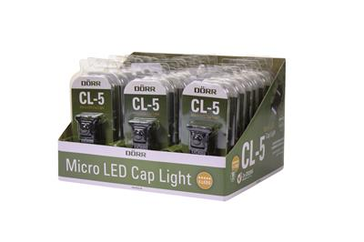 Micro LED Cap Light CL-5 (Display 24 pcs)