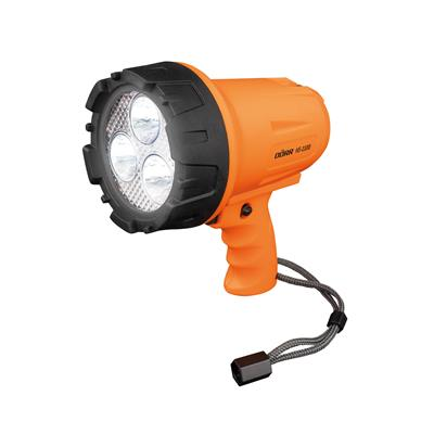Portable LED Spotlight HS-1100 orange