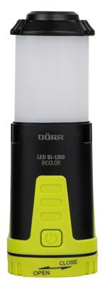 LED Outd. lanter Bicolor Bi-1350 black/neon yellow